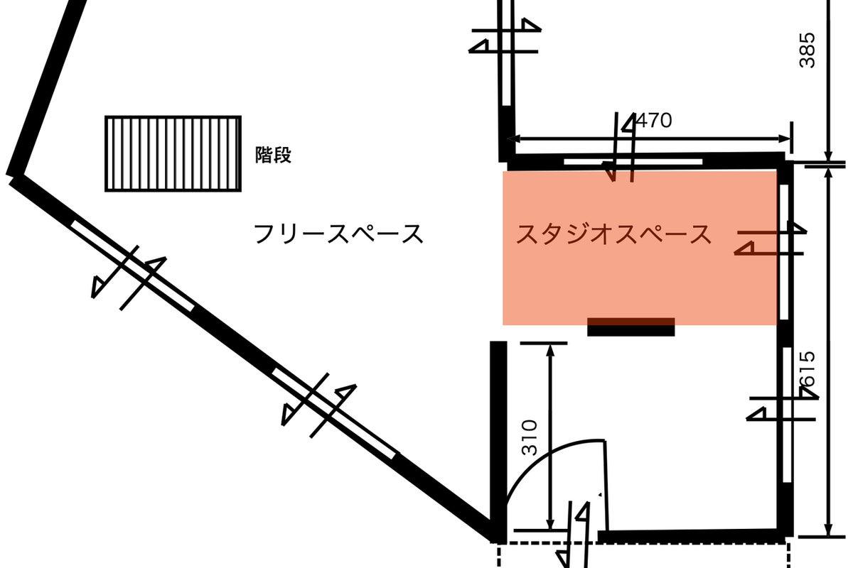 【阪急逆瀬川駅すぐ】撮影機材を完備した撮影スペースです。 の写真