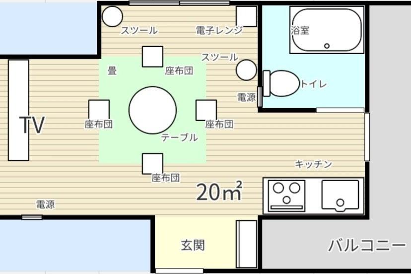 【For multi-purposes】【Autumn🍁1日2組まで限定📺💻✏🎂】マルチに使える東京新宿waSpace の写真