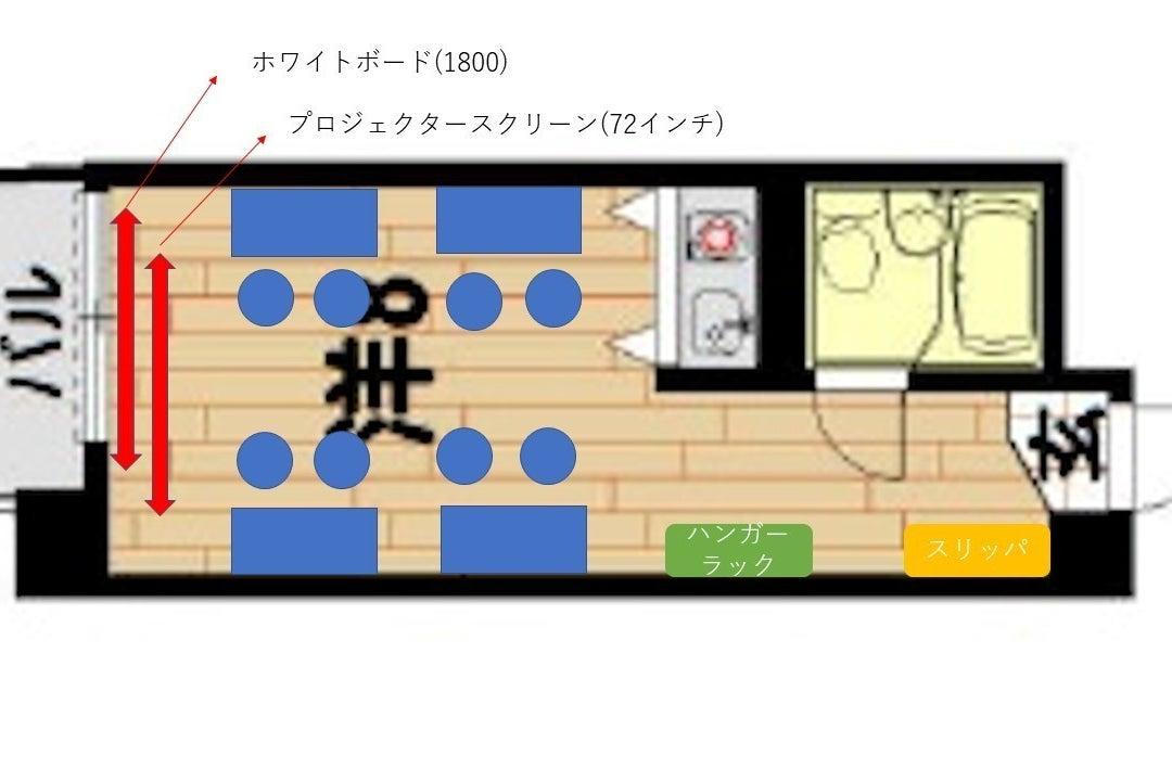 《VILLENT横浜1》横浜駅西口徒歩5分/最大12名/リングライト/光回線無料Wifi/テレワーク の写真