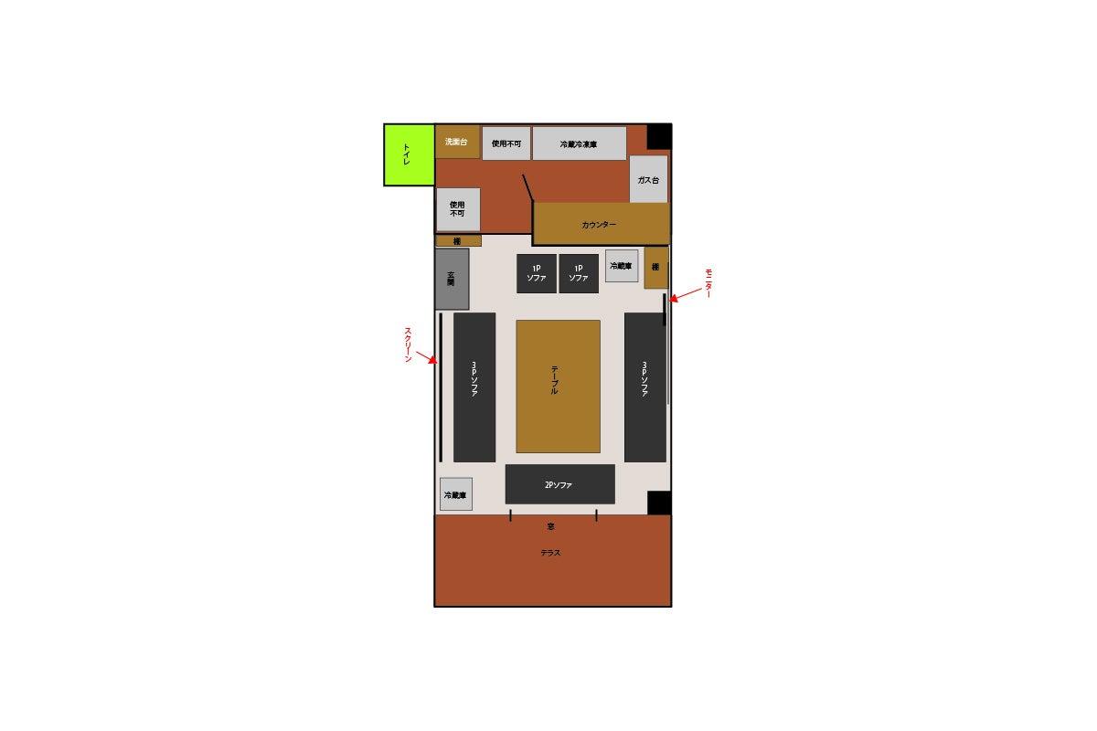 会員制バー 業務用キッチン、ホームパーティ の写真
