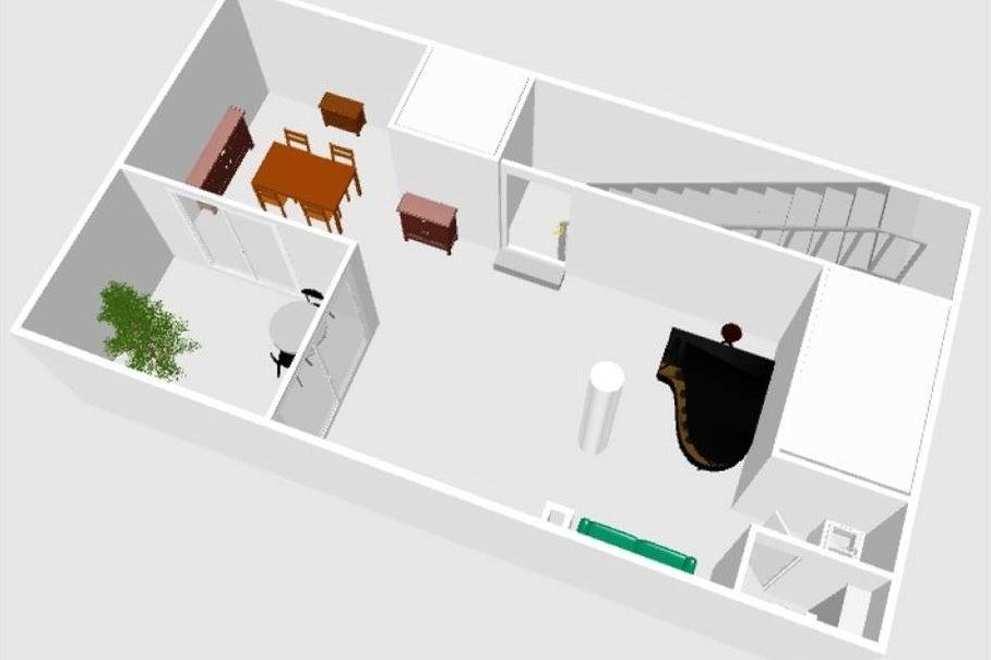 [代官山6分/駐車1台可]自然光の入る地下1階・グランドピアノのある隠れ家的スペース。撮影・会議・楽器練習・パーティー等 の写真
