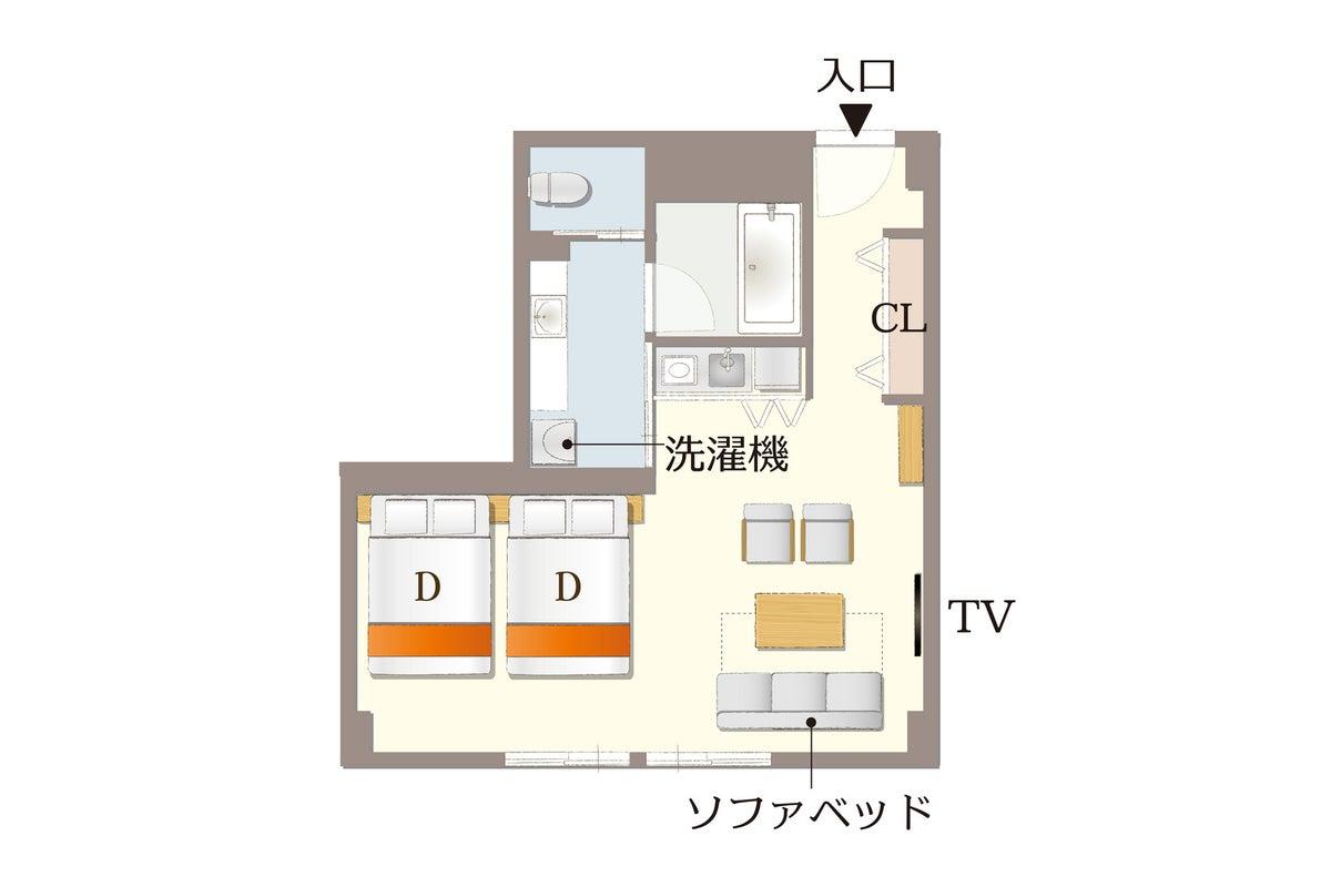 【coto/SPFK①】京都駅近く🚅キッチン付⭐youtubeやNetflix視聴可🎬オシャレなお部屋で各種パーティーを🎉 の写真