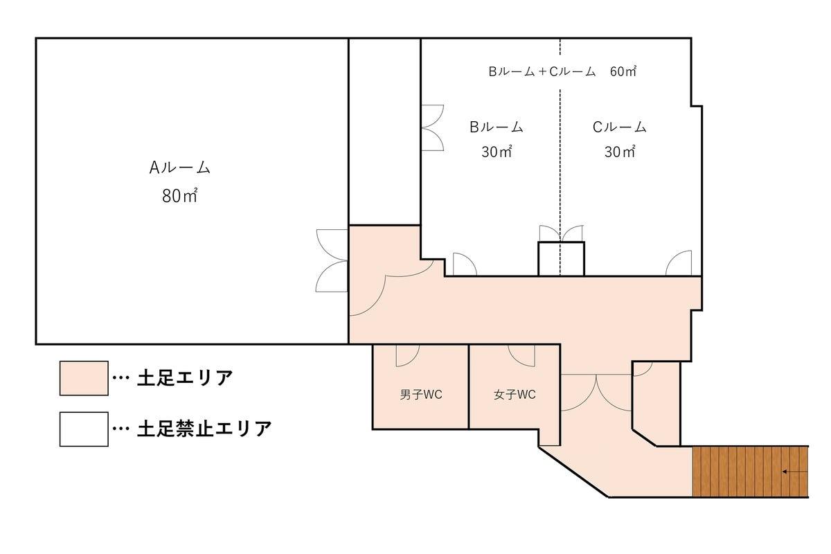 和泉和気店 B&Cルーム 当日予約OK!24時間利用可能! 自主練はもちろん、習い事や教室の開催にぴったりのスタジオ!!  の写真