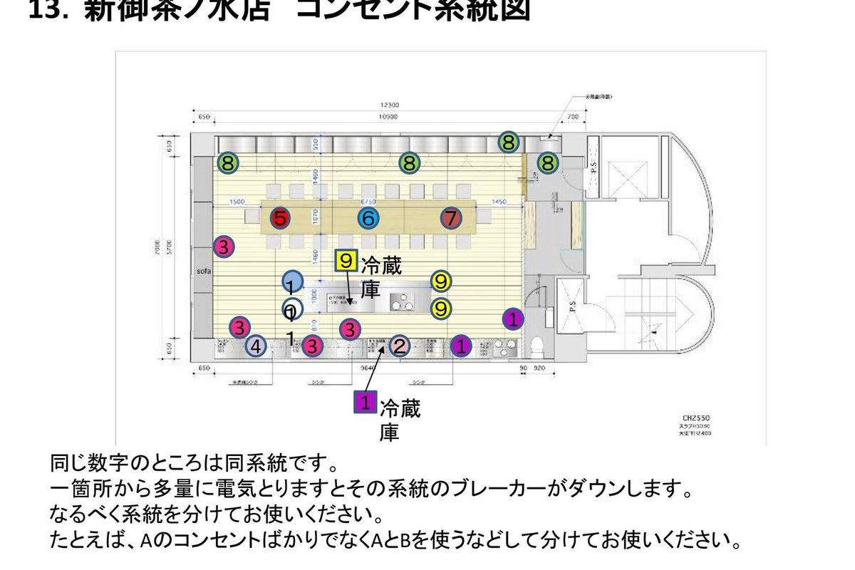 【Patia】新御茶ノ水駅から徒歩1分!最大50名収容の広々とした貸切キッチンスペース。パーティーやセミナー、撮影に最適です。 の写真