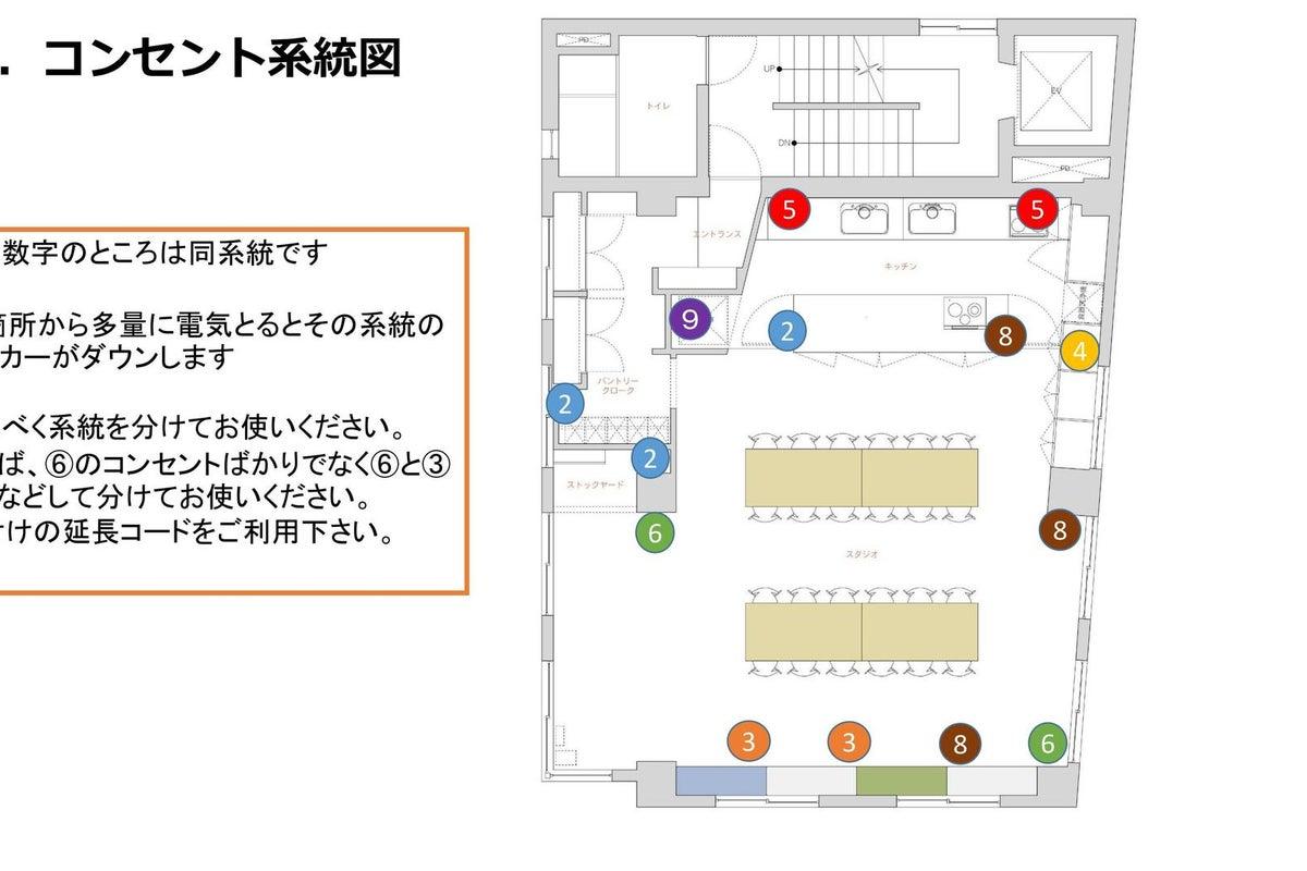 【Patia】東京メトロ麹町駅から徒歩3分!駅近好立地に登場した本格的レンタルキッチンスペース の写真