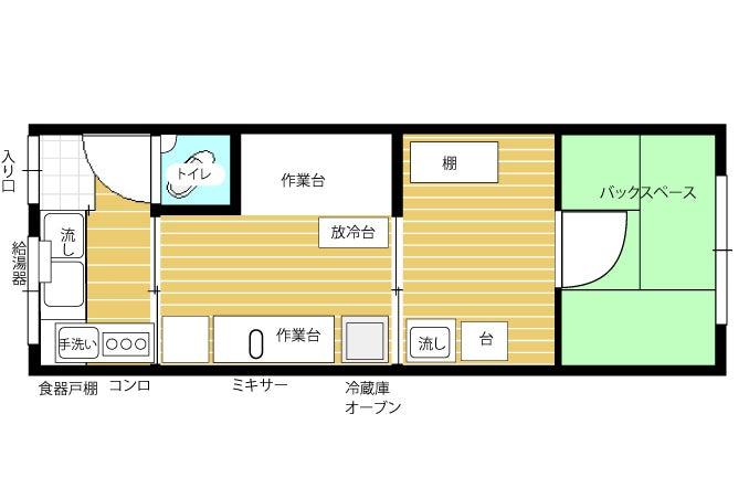 菓子製造キッチン 大阪堺 bunka 缶詰瓶詰製造許可も有 の写真
