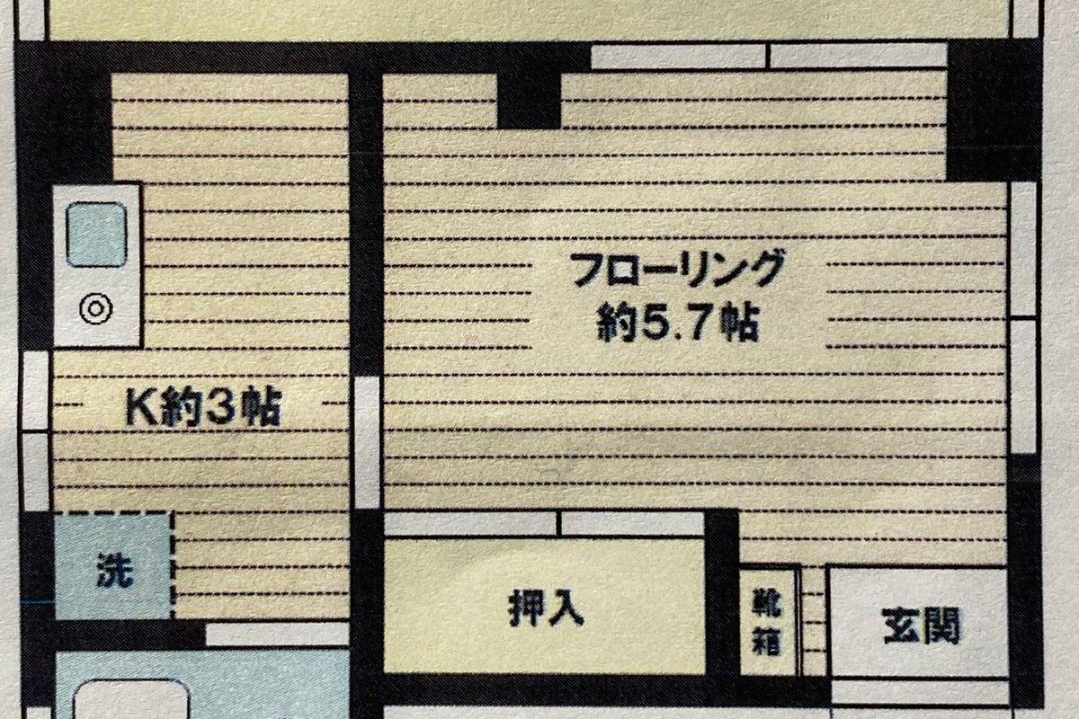 下北沢駅至近・鏡姿見あり・無料WIFI ・43インチTV☆ 完全個室⭐️除菌グッズ常備⭐️窓3面換気⭐️即予約可 の写真