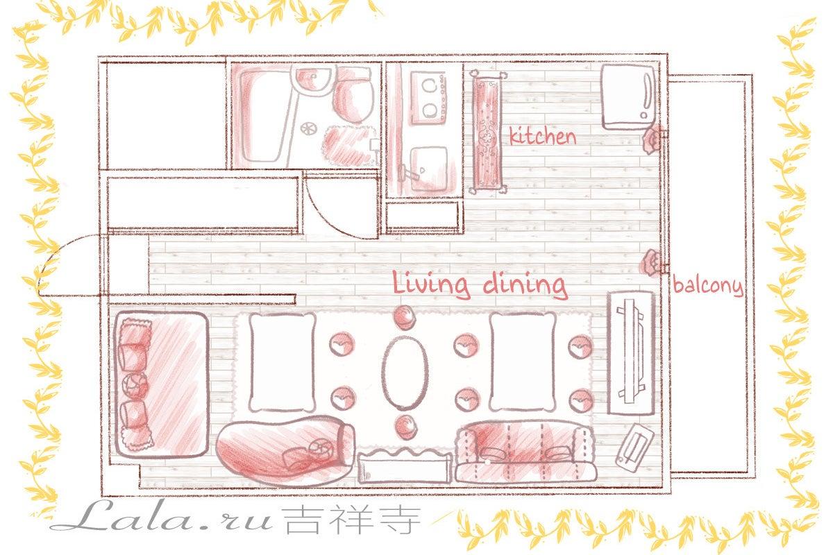 吉祥寺駅徒歩2分Open割✨ゴミ捨て可!!キッチン充実 毎日除菌✨Wi-Fi✨Switchマリカー桃鉄スマブラ ネトフリ無料 の写真