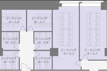 【関内駅直結のシェアオフィス・貸会議室】G Innovation Hub Yokohama ミーティングスペース2 の写真
