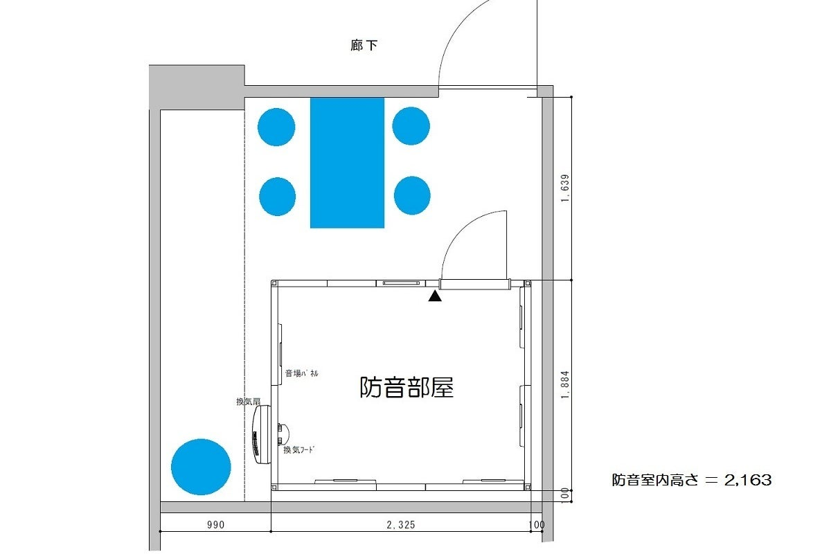 【赤羽駅徒歩2分の防音室♪】防音TV会議・レッスン・音録りスタジオに♪赤ばね防音部屋。 の写真