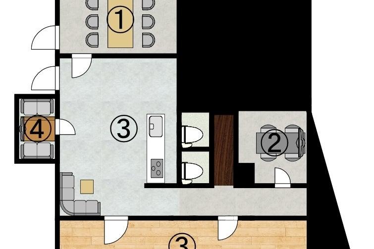 リモートワーク・オンラインセミナー・少人数打ち合わせ等におすすめのスペース♪ の写真