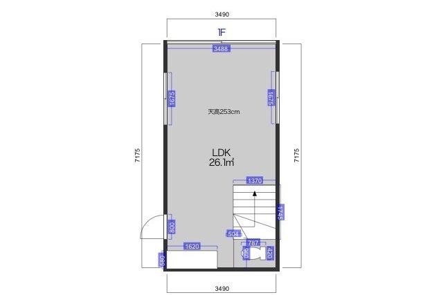 【超格安!】天井高2.9m 白壁撮影スタジオ 和風古民家風撮影も の写真