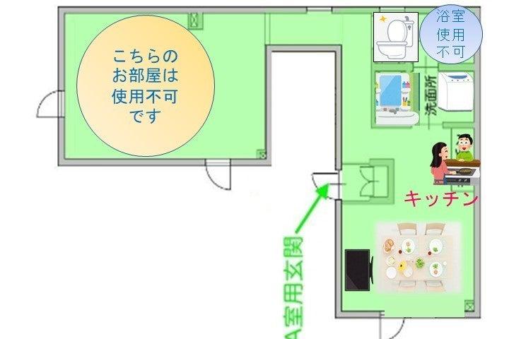 (2361) キッチン付き🍳のダイニングで、TV📺 🎶を見ながら食事会や、誕生日会🍹をどうぞ✨️✨ の写真