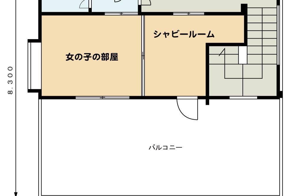 2階建ての広々100㎡を誇る  Cube studio ! 柔らかな自然光 ガーリーなハウススタジオ です 控室有り  の写真
