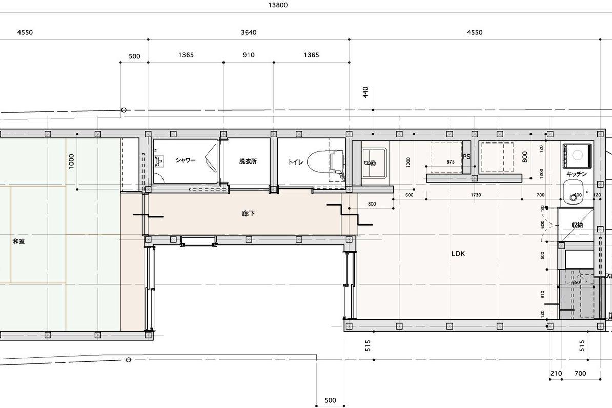 【木の家1F】森下駅2分・キッチン完備・木造ワンフロア貸切。会議やパーティーに。 の写真