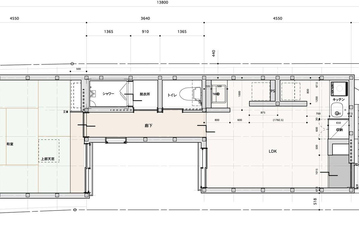 【木の家2F】森下駅2分・キッチン完備・木造ワンフロア貸切。会議やパーティーに。 の写真