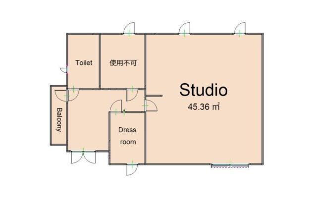 TVや雑誌で使われる新宿の人気スタジオが湘南に。多機能性スタジオの終着点です。 の写真
