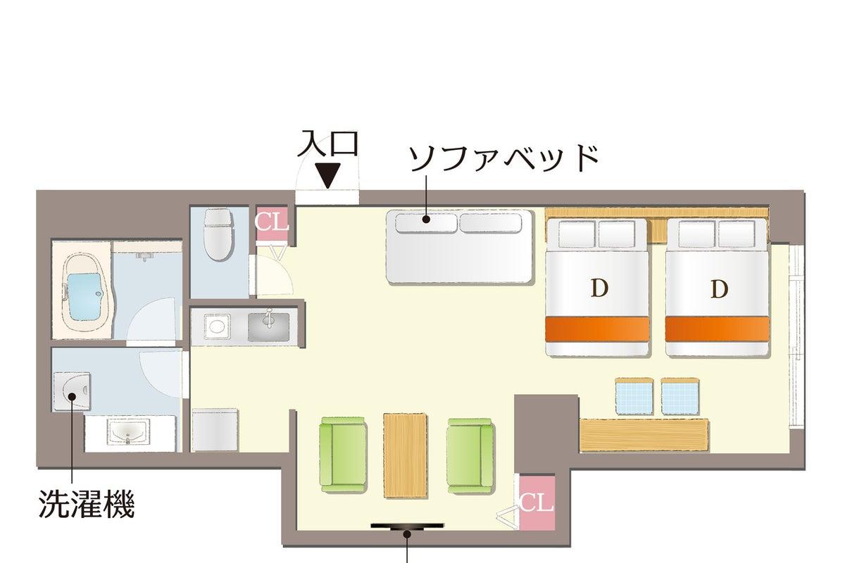 【西陣_折り紙】イズミヤ目の前👀キッチン付き🎵広いお部屋で女子会💖ママ会👶などのご利用に! の写真