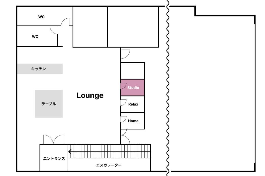 《即利用可 / 毎回清掃 / 無料Wifi&電源》個室タイプの快適ワークスペース【 Studio 】 の写真