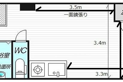 【新大阪駅徒歩5分】新大阪地域最安値!当日予約可能の個室レンタルプライベートジム!全面鏡張!パーソナルにピッタリ! の写真