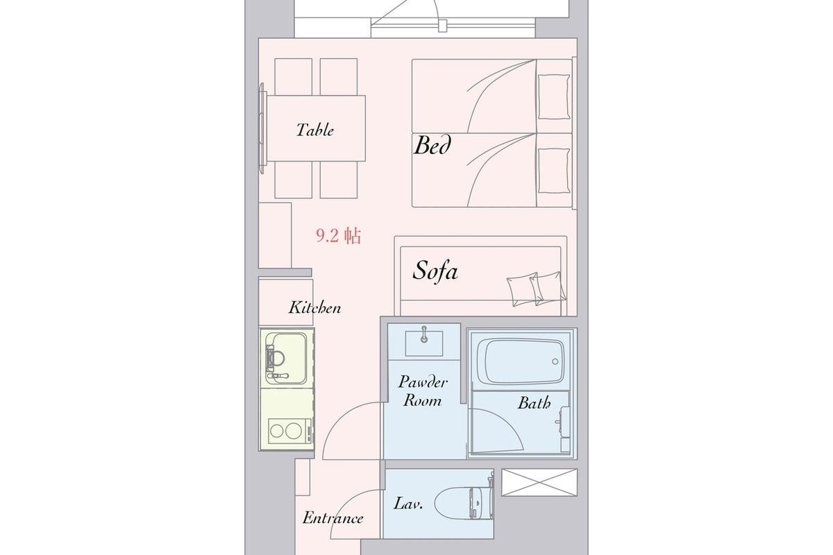 hotel MONday Apartment 東京西葛西 Annex キッチン付き!女子会・誕生日会・テレワーク利用などに! の写真