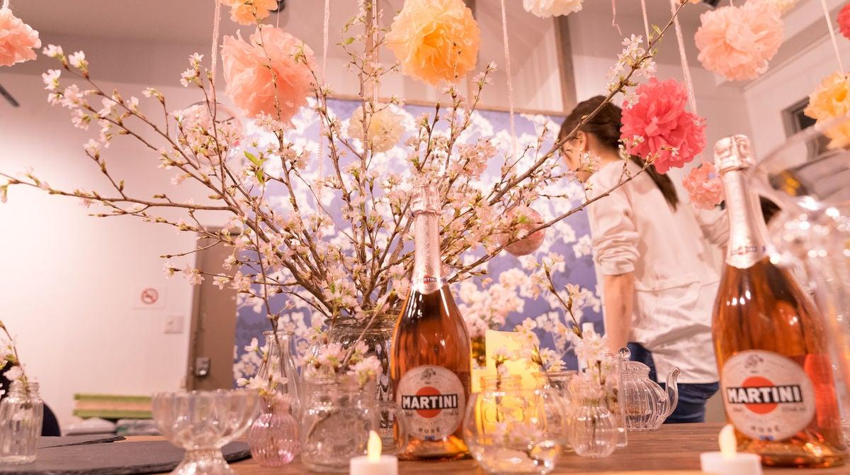 マルティーニロゼを楽しめるインドア花見スペースまとめ