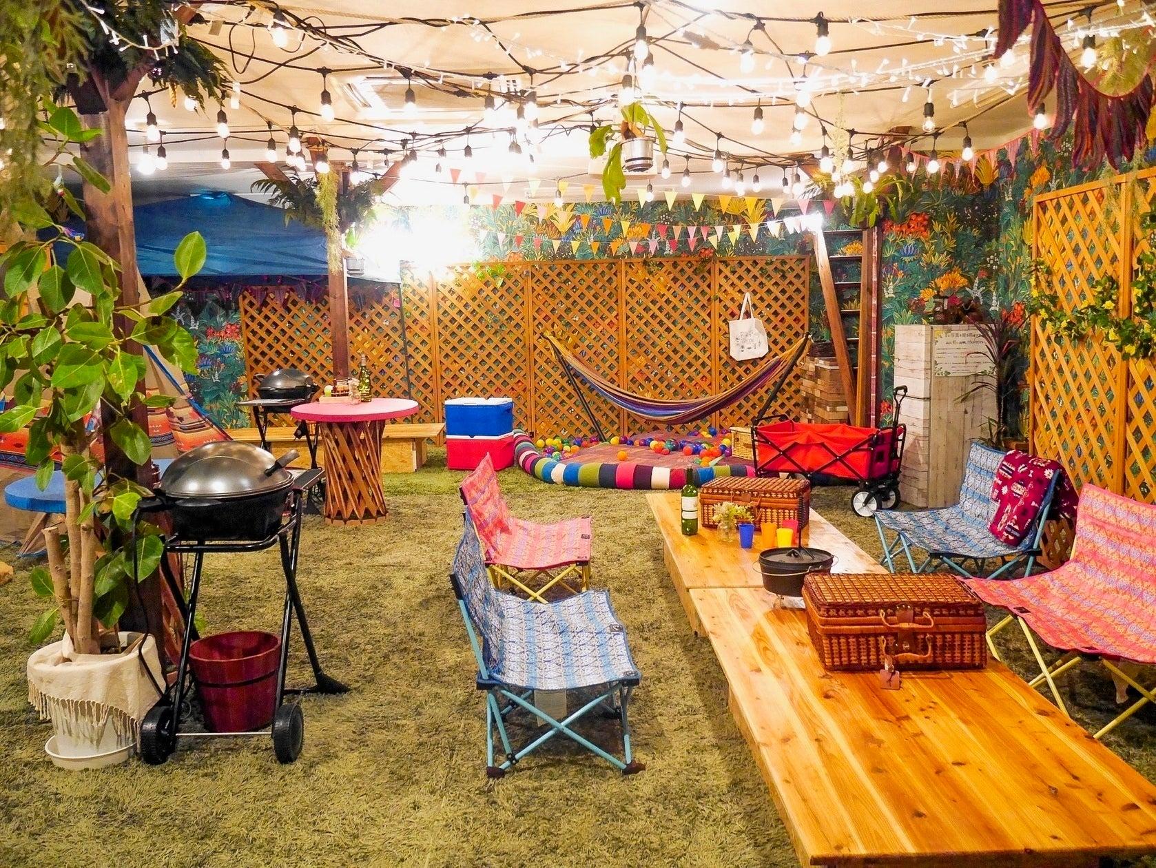 室内キャンプ・おうちキャンプができるスペースまとめ