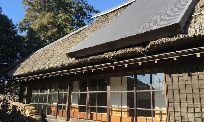 【東京 町田】築153年の茅葺き古民家