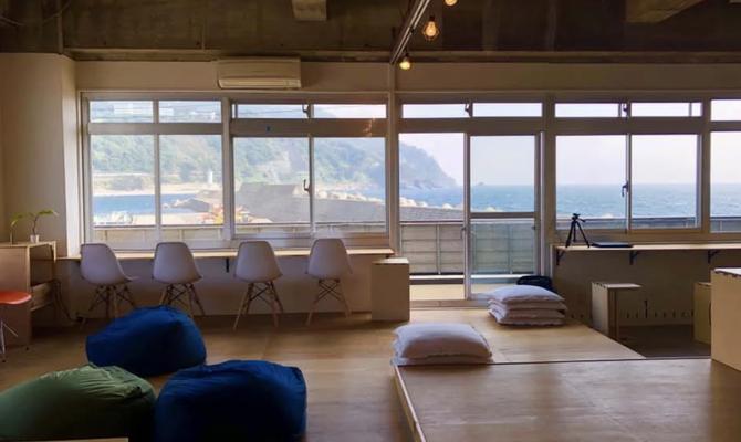 【静岡 伊豆】海を一望できる港のシェアスペース