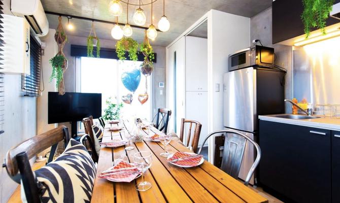 【東京 三軒茶屋駅】最上階テラス付き!開放感のあるキッチンスペース