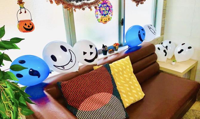 【大阪 元町駅】広々キッチンで料理しながらハロウィンパーティーはいかが?