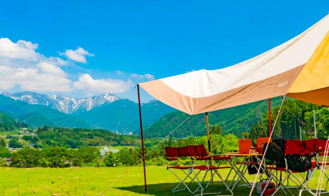 キャンプ場・おうちキャンプ