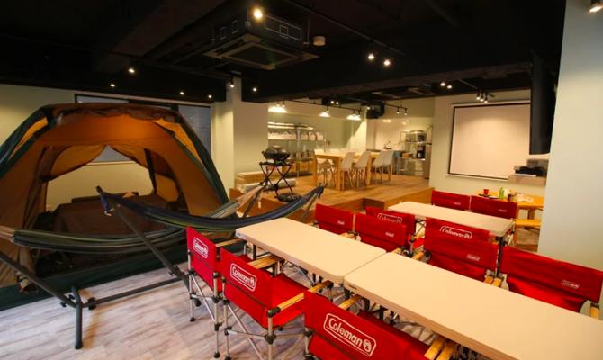 【埼玉県所沢市】室内テントやハンモックが自慢のおうちキャンプスペース