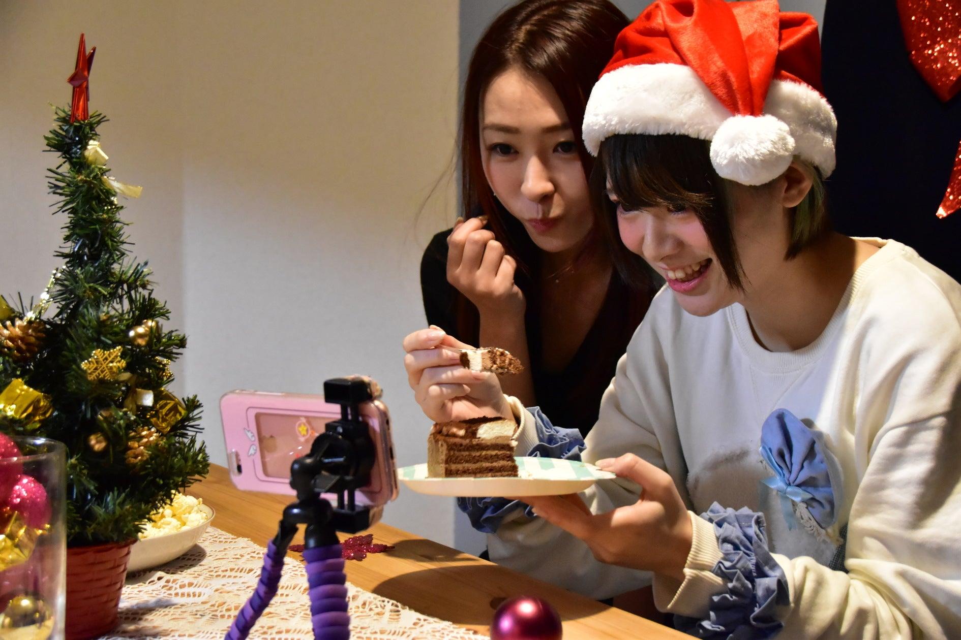 フォトジェニックなクリスマス女子会