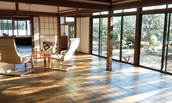 【宮城県 仙台市】大きな窓の古民家で非日常を味わえる