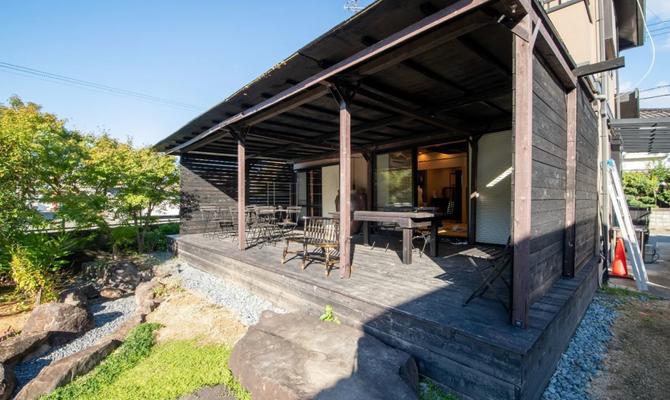 【大阪府 箱作駅】周りが自然に囲まれた古民家スペース