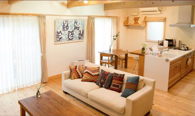 guesthouse MOSHIMO 自然素材に囲まれた一軒家