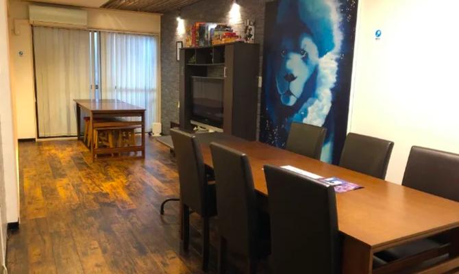 キッチン付きルームスペース