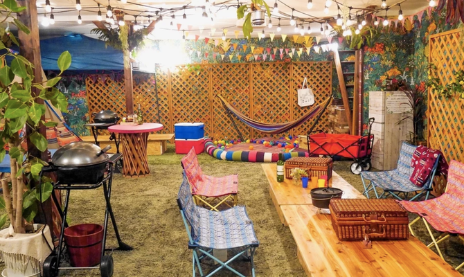 アウトドア好きの友達におすすめなキャンプスペース