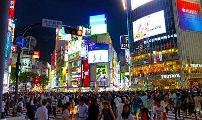 渋谷ハロウィン着替え用スペース