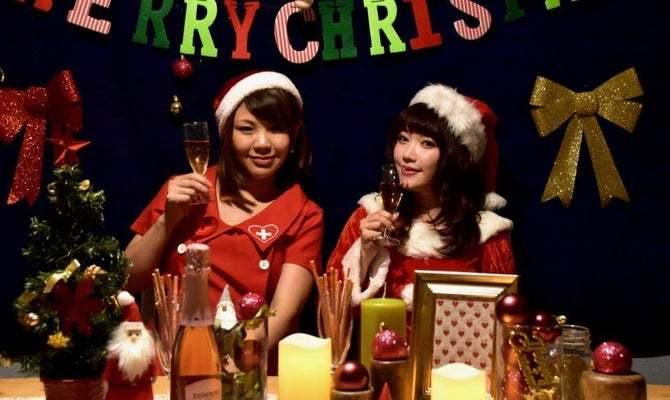 美女インスタグラマーのクリスマス会♡