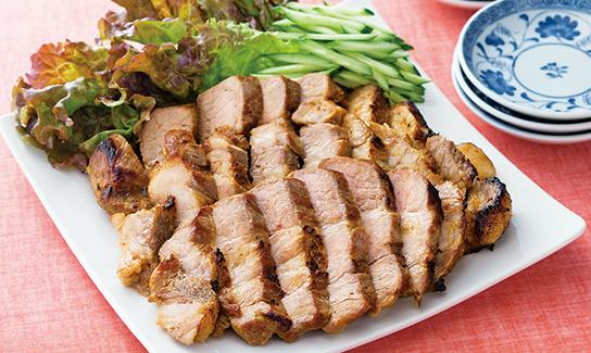 豚肉ロースブロックでつくる手作りチャーシュー(調理時間:40分)